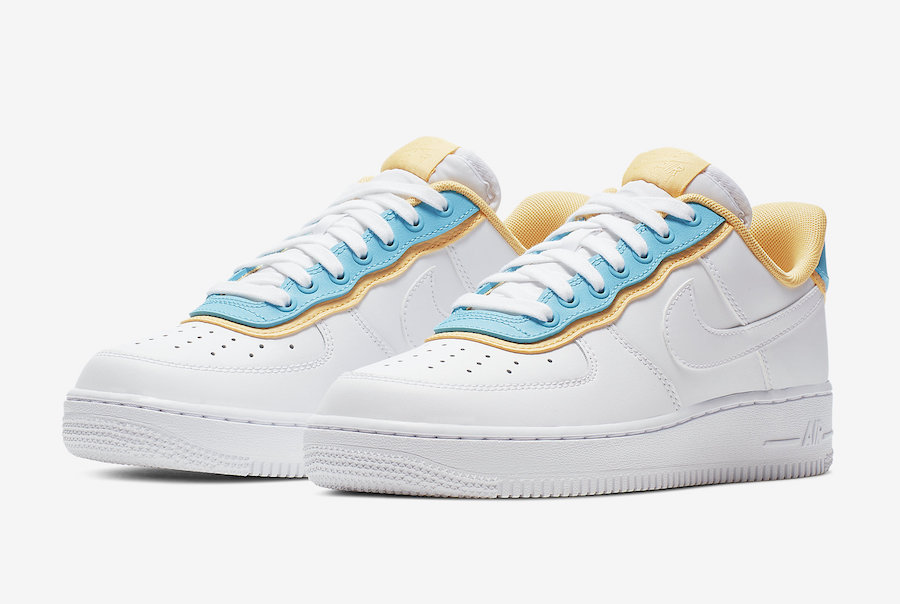Nike's Air Force 1 Low Gets Layered In Coloured Panels