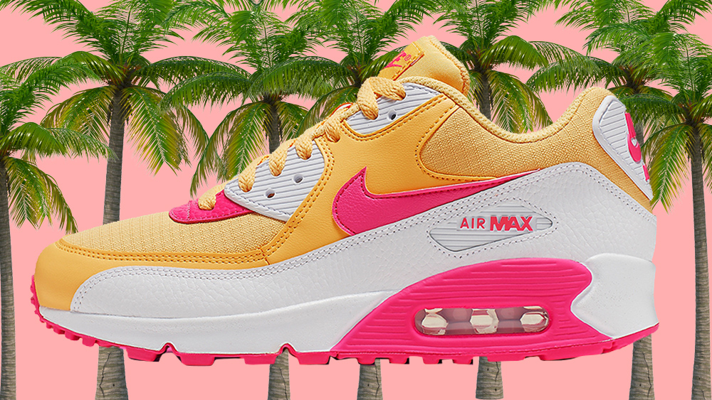 31bb03865d The Upcoming Air Max 90 Is Going To Add A Tropical Twist To Your Rotation |  Upcoming Sneaker Releases | The Sole Womens