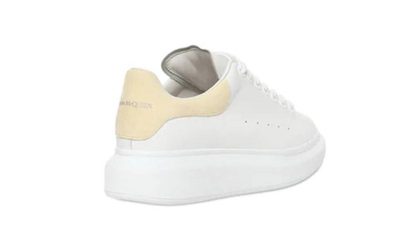 Alexender McQueen 40MM White Yellow 01