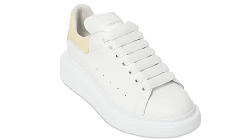 Alexender McQueen 40MM White Yellow 03