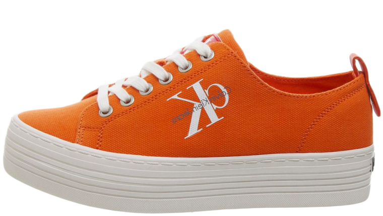 Calvin Klein Zolah Flatform Orange