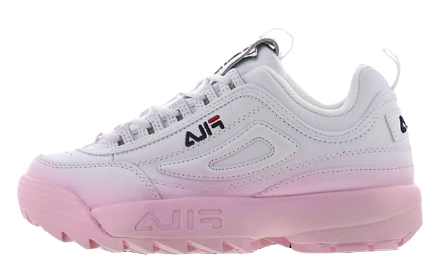 Fila Disruptor II White Pink