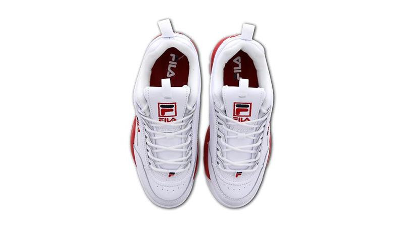 Fila Disruptor II White Red 02