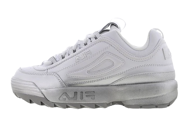 Fila Disruptor II White Silver