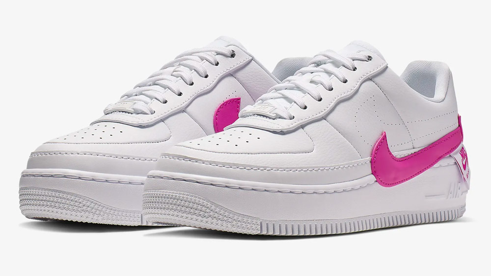 new arrival bbe0e 8e192 Nike Air Force 1 Jester XX White Pink | AO1220-105