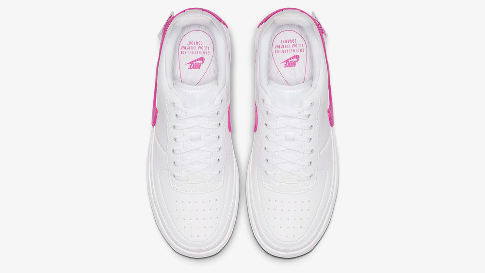 Nike Air Force 1 Jester XX White Pink | AO1220 105 | The Sole Womens