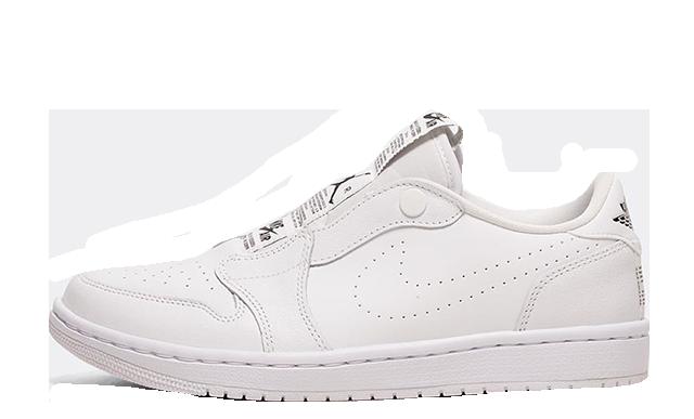 Jordan 1 Retro Low Slip-On White Womens