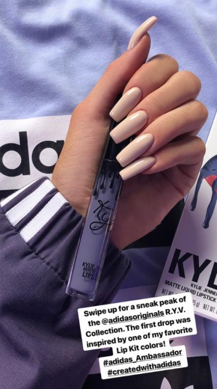 Kylie Jenner Instagram Story Falcon Shady