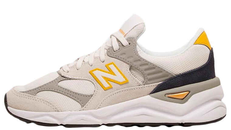 New Balance Womens X90 Grey Yellow