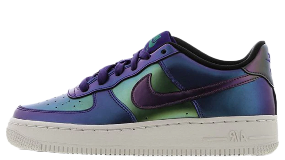 competitive price 4902a 5dfc7 If you re also loving the Nike Air Force 1 LV8 Metallic Purple as much as  us, click the links below to cop! UK true DD MM YYYY