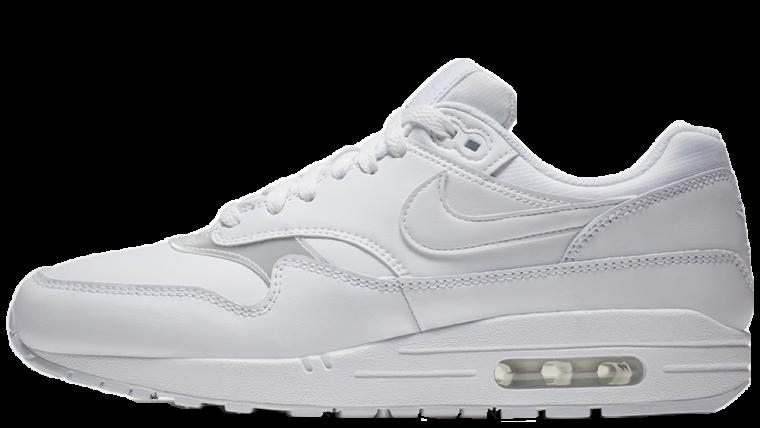 Nike Air Max 1 Triple White | 319986-119
