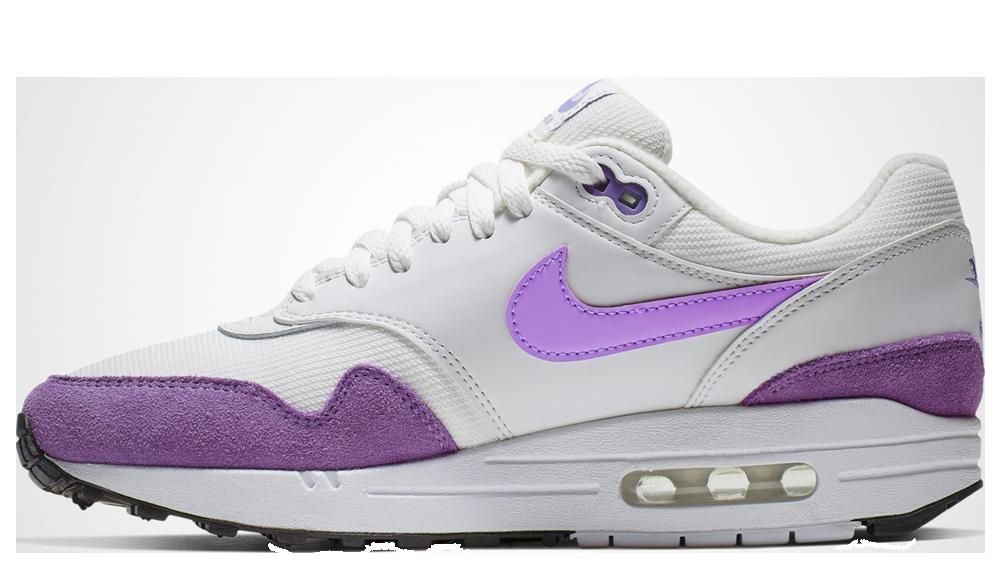 Nike Air Max 1 White Purple | 319986-118