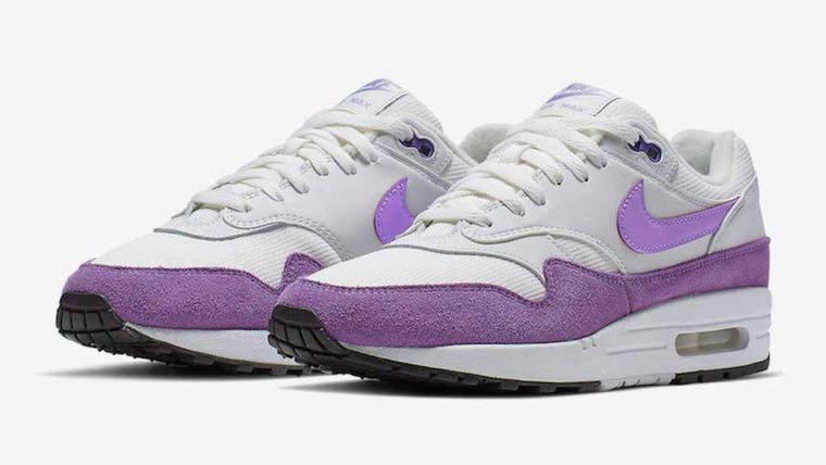 Nike Air Max 1 White Purple thumbnail image