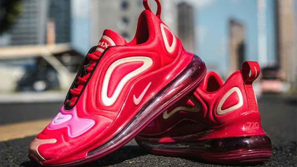 Nike Air Max 720 Team Crimson GS | AQ3195-600