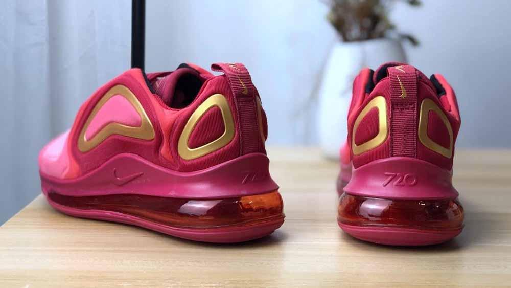 Nike Air Max 720 GS Team Crimson | AQ3195 600