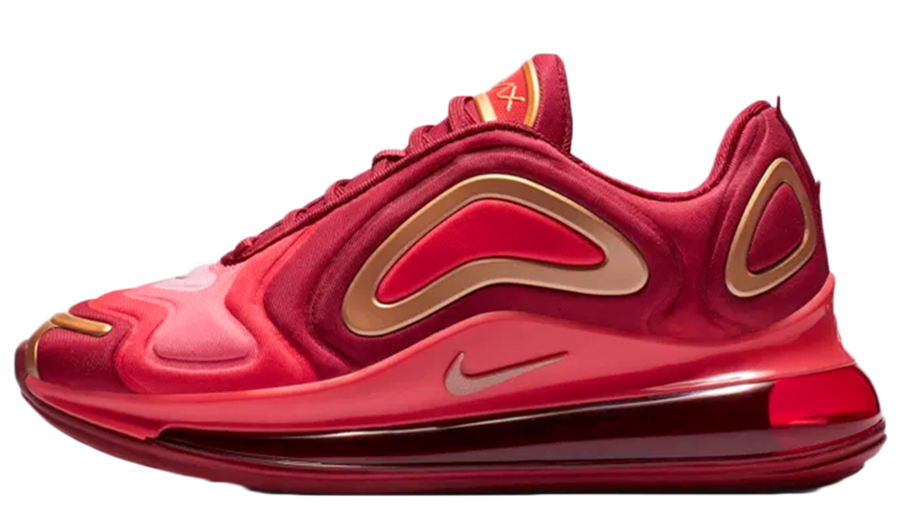 Nike Air Max 720 GS Team Crimson | AQ3195-600
