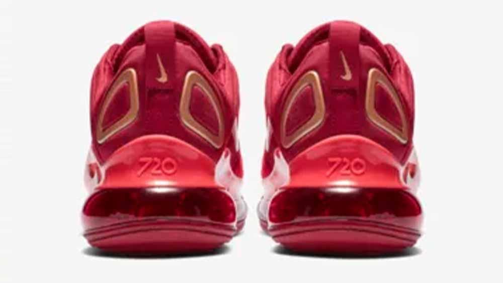 Nike Air Max 720 Team Crimson GS   AQ3195-600
