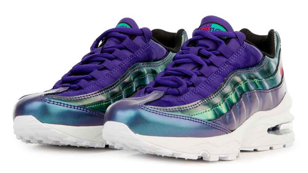 reputable site a5442 3d786 Nike Air Max 95 SE Metallic Purple GS   AO9211-500