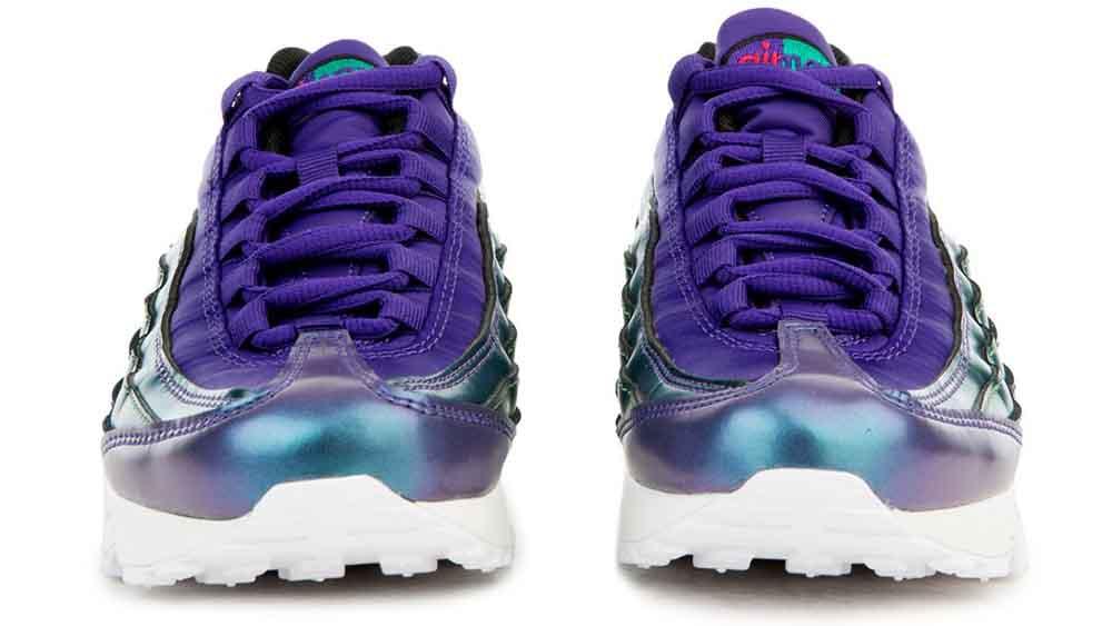 2d12d2933c Nike Air Max 95 SE Metallic Purple GS | AO9211-500 | The Sole Womens