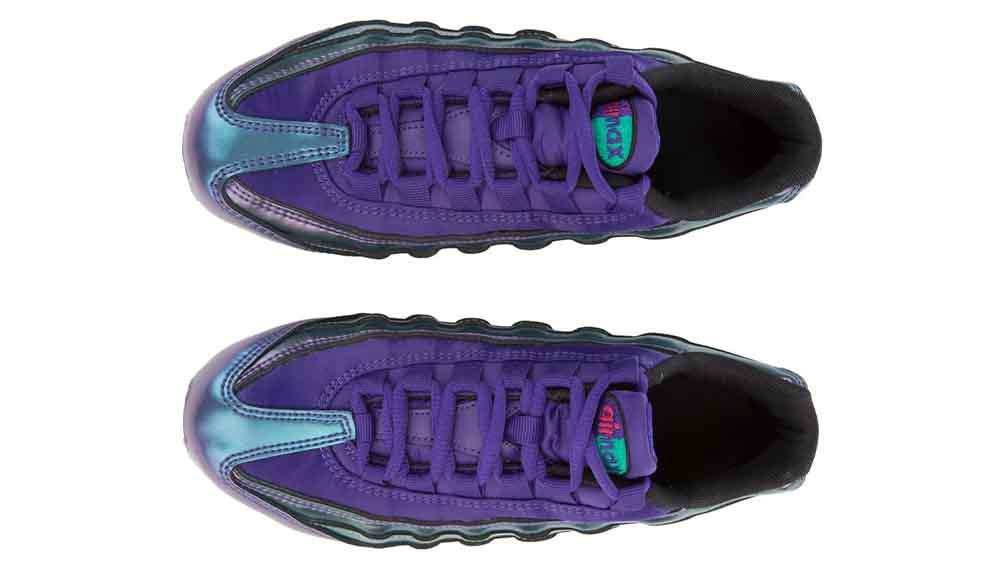 reputable site 3414e f043f Nike Air Max 95 SE Metallic Purple GS | AO9211-500