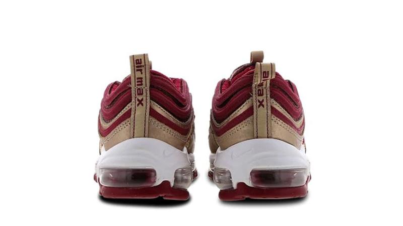 Nike Air Max 97 GS Red White 01