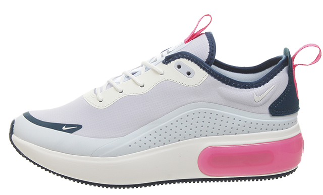 a11af1a224 The Nike Air Max Dia Blue Pink Women's is available to buy now via the  stockists listed. If you're a fan of this sneaker, be sure to stay tuned  for more ...