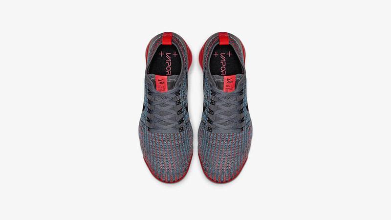 5e8bdf1dc062 Nike Air VaporMax Flyknit 3 Crimson Grey AJ6910-601 02