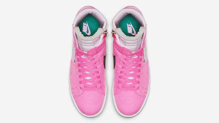 Nike Blazer Mid Rebel Pink White BQ4022-602 02 thumbnail image