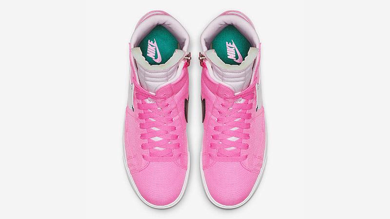 Nike Blazer Mid Rebel Pink White BQ4022-602 02