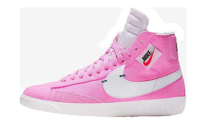 Nike Blazer Mid Rebel Pink White BQ4022-602