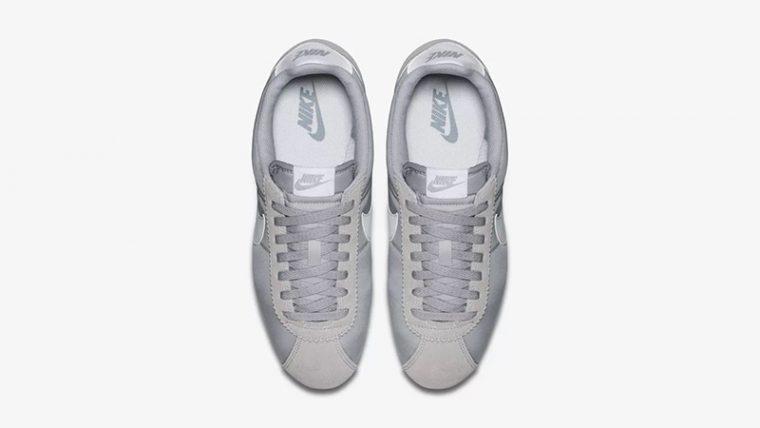 low priced 85e3a 618fe Nike Classic Cortez Nylon Grey White 807472-010 02