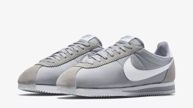 1aba02c5943d6 Nike Classic Cortez Nylon Grey White | 807472-010 | The Sole Womens
