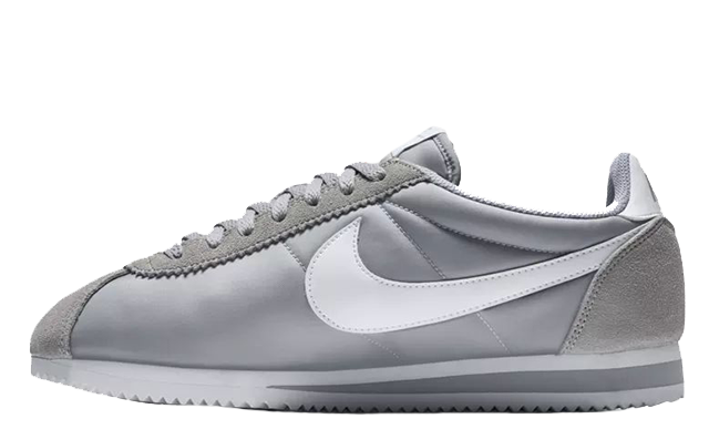 quality design high quality release info on Nike Classic Cortez Nylon Grey White | 807472-010