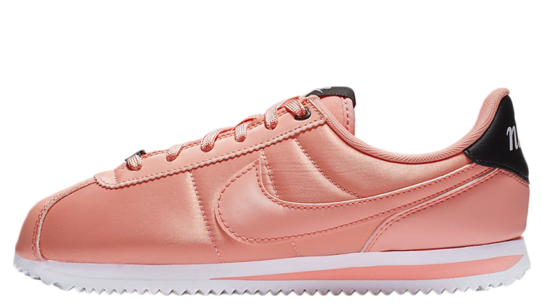 Nike Cortez GS Basic TXT VDAY Satin Pink  950e704a5