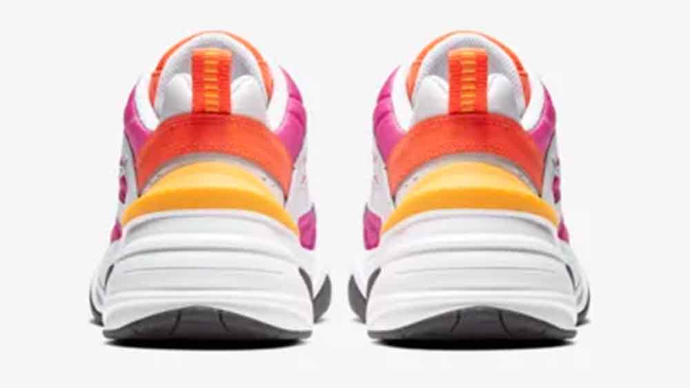 Nike M2K Tekno White Laser Fuchsia | AO3108-104