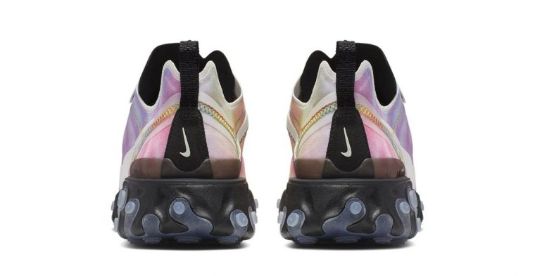 Nike React Element 55 Tie Dye double front