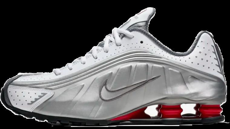 Nike Shox R4 White Silver | BV1111-100