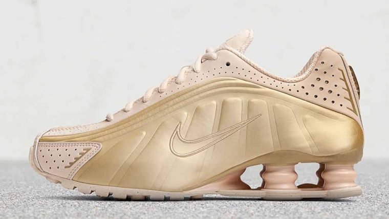 Nike Womens Summer 2019 Shox Gold