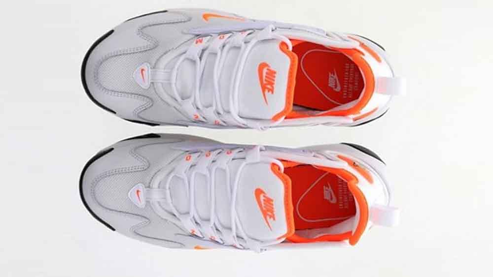 sports shoes a7d9d 63aa8 Nike Zoom 2K Platinum Orange