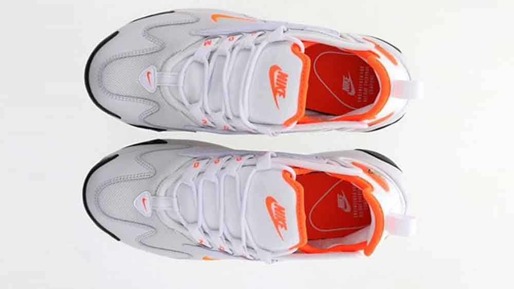 the best attitude good big sale Nike Zoom 2K Platinum Orange
