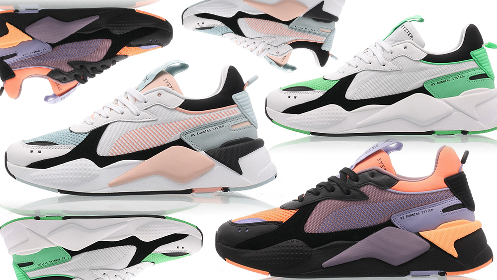 PUMA's RS X Reinvention Silhouettes Comes In 3 New