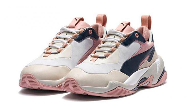 PUMA Thunder Rive Gauche Pink Beige Womens 369453-02 03 thumbnail image
