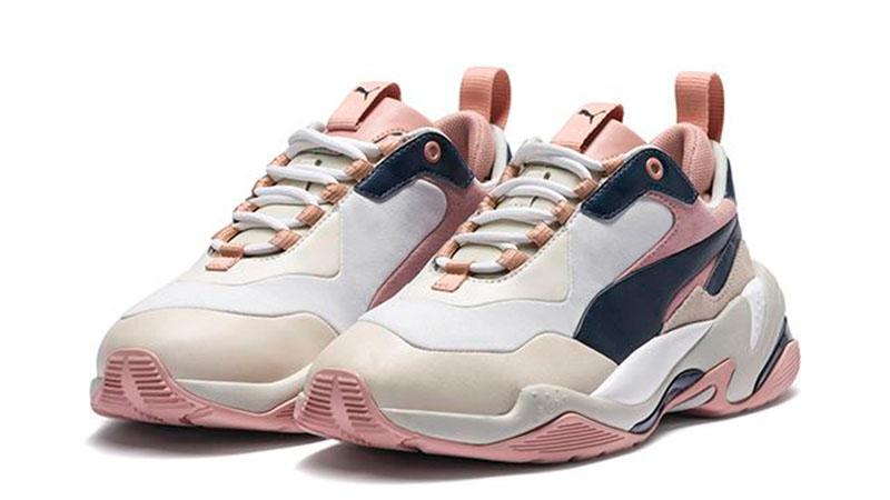 PUMA Thunder Rive Gauche Pink Beige Womens 369453-02 03