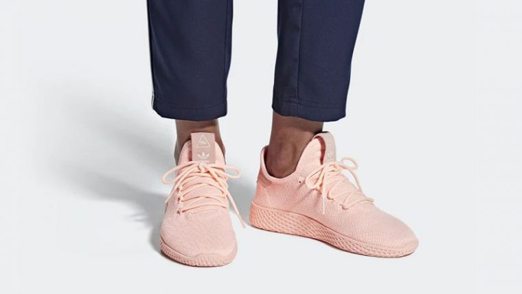 Pharrell Williams x adidas Tennis Hu Pink D96551 04 thumbnail image