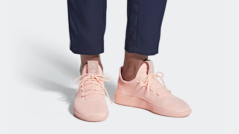 Pharrell Williams x adidas Tennis Hu Pink D96551 04