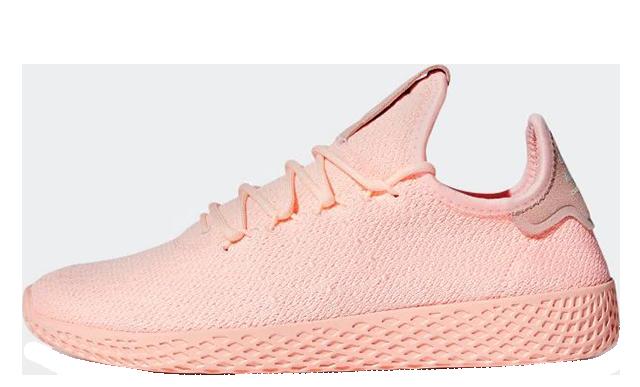 Pharrell Williams x adidas Tennis Hu Pink D96551