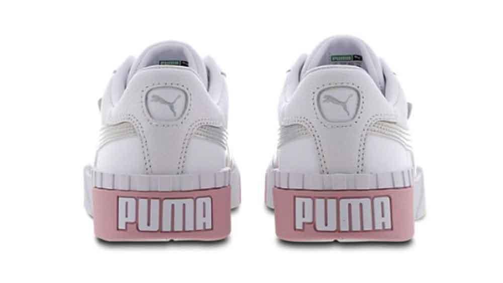 Puma Cali White Silver