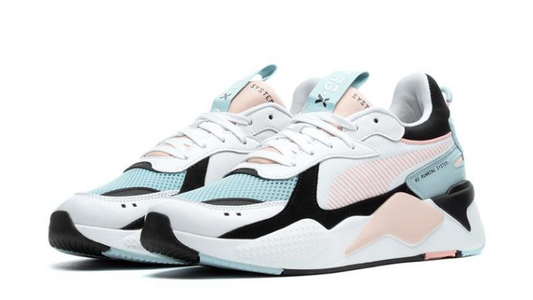 Puma RS-X Reinvention White Pink Womens 369579-06 03 thumbnail image