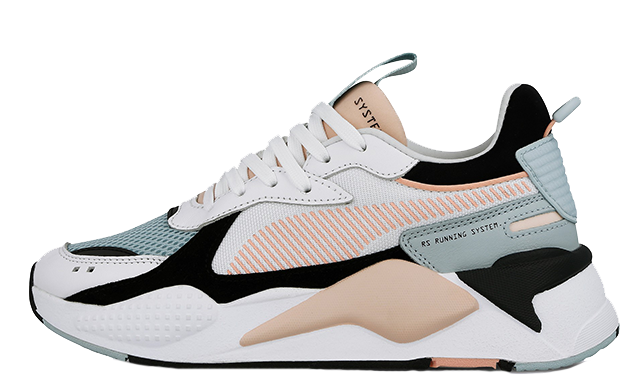 PUMA RS-X Reinvention White Pink Womens | 369579-06