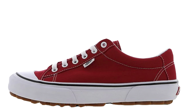 Vans Style 29 Red White Womens